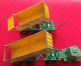 Matchbox Kingsize K-16 Dodge Tractor and Tipping Trailers